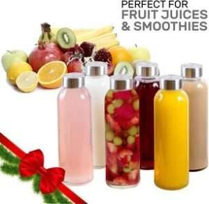 Brieftons 18 Oz Juice Beverage Containers