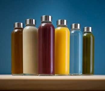 Epica 18-Oz Glass Beverage Bottles