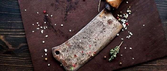 Rusty Kitchen Knife