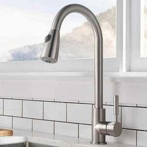 Comllen Single Handle Pull Out Kitchen Faucet