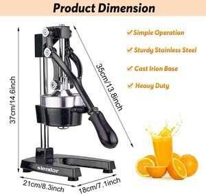 Slendor Hand Pressed Manual Juicer